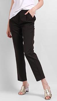 Черные брюки Silvian Heach с высокой талией, фото