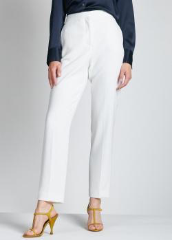 Белые брюки Rag & Bone зауженного кроя, фото