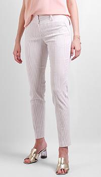Белые брюки Max&Moi в полоску, фото