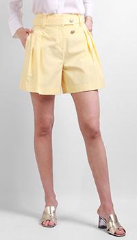 Широкие шорты Max&Moi желтого цвета, фото