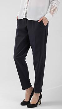 Зауженные брюки Peserico черного цвета, фото