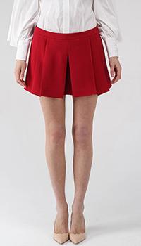 Юбка-шорты Red Valentino бордового цвета, фото