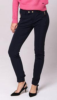 Зауженные брюки Bogner с карманами на молнии, фото