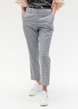 Зауженные брюки Twin-Set в клетку, фото