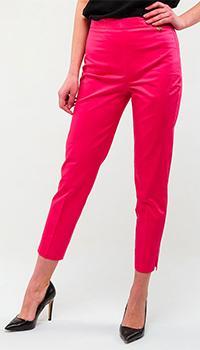 Розовые брюки Twin-Set укороченные, фото
