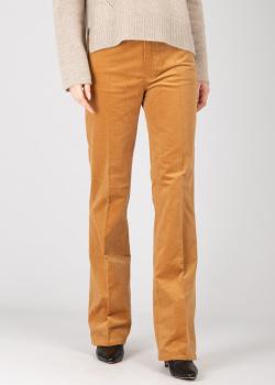 Вельветовые брюки Zadig & Voltaire цвета охры, фото