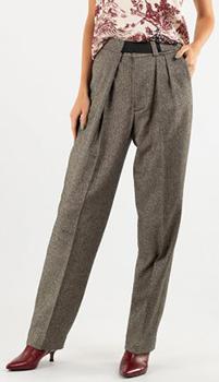 Серые брюки Zadig & Voltaire со стрелками, фото