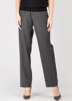 Серые брюки Zadig & Voltaire с поясом на кулиске, фото