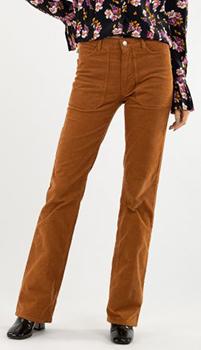 Вельветовые брюки Zadig & Voltaire с накладными карманами, фото