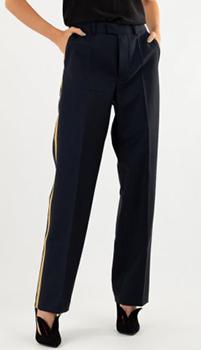 Шерстяные брюки Zadig & Voltaire с лампасами, фото
