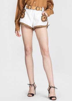 Льняные шорты Zimmermann с нашивками, фото