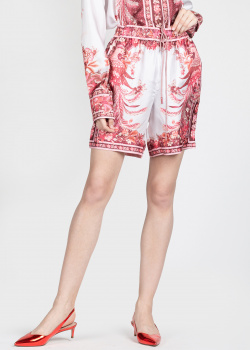 Шелковые шорты Zimmermann на кулиске, фото