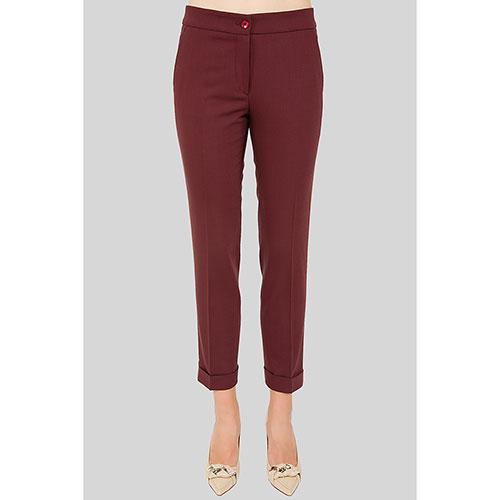 Красные брюки Etro с низкой талией, фото