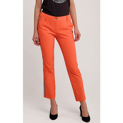 Укороченные брюки Sportalm оранжевого цвета, фото