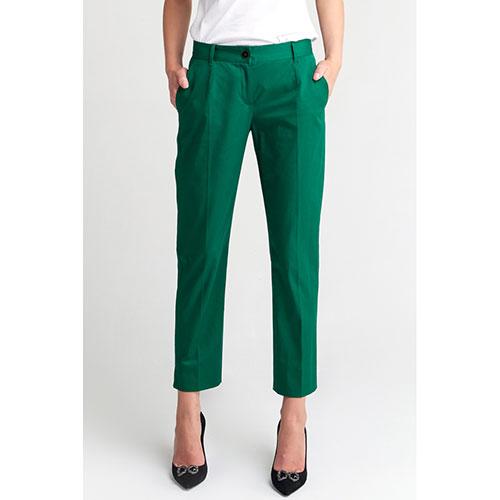 Зеленые брюки Dolce&Gabbana с карманами, фото