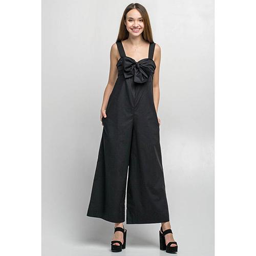 Черный комбинезон Kaos с завязками, фото