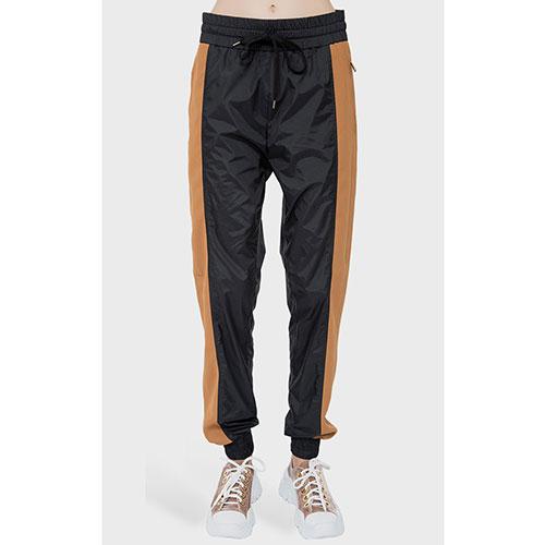 Спортивные брюки N21 с широкими лампасами, фото