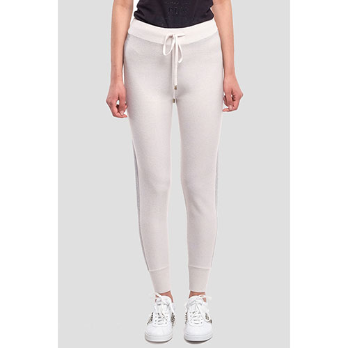 Спортивные брюки Peserico молочного цвета, фото
