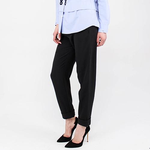 Широкие брюки Emporio Armani на тесьме, фото
