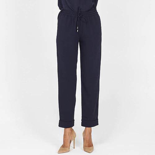 Брюки Armani Jeans прямого кроя синие, фото