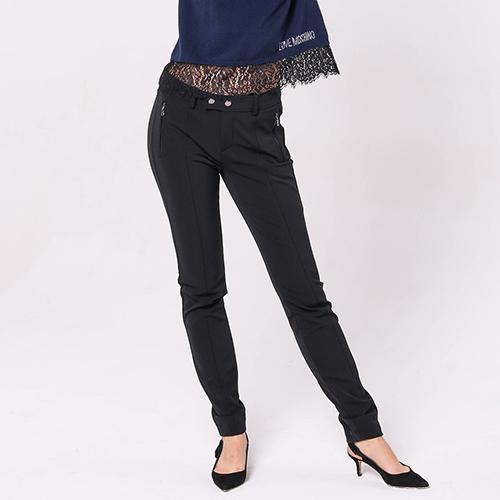 Черные брюки Bogner с карманами на молнии, фото