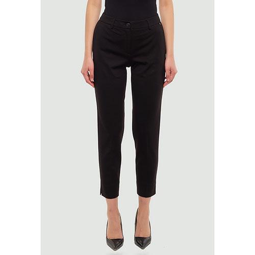 Черные брюки Twin-Set с разрезами, фото
