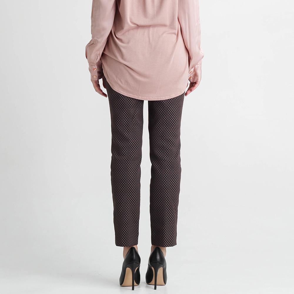 Укороченные брюки Nenette из жаккарда