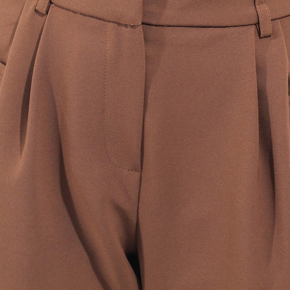 Брюки-чинос Sonia Fortuna коричневого цвета