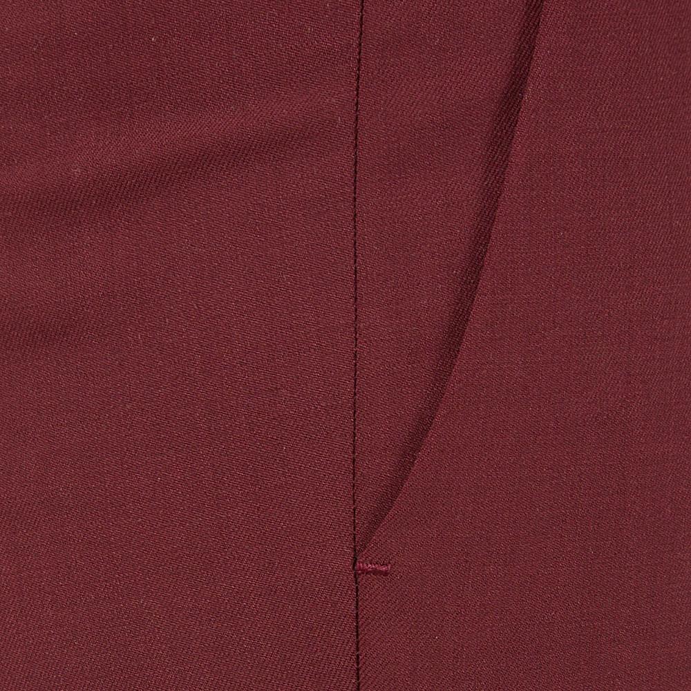 Красные брюки Etro с низкой талией