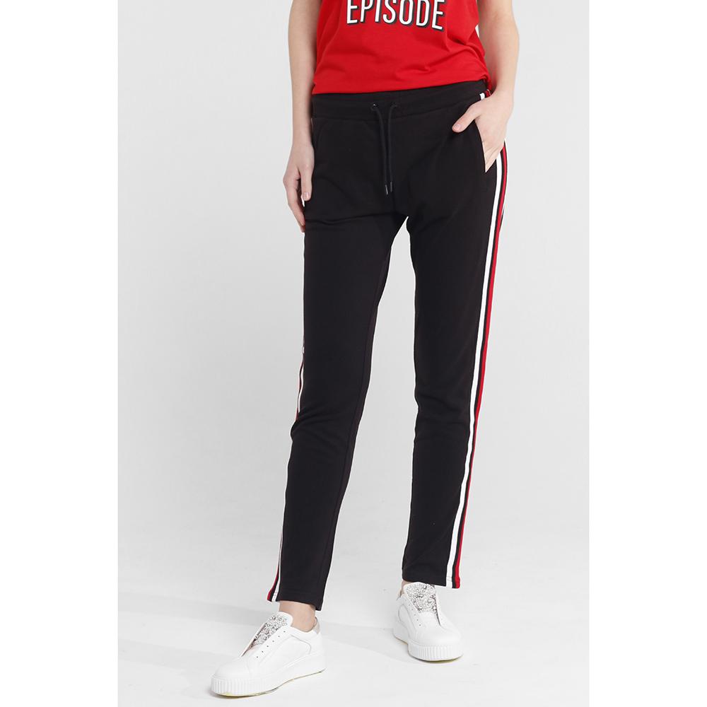 Укороченные брюки Quantum Courage черного цвета