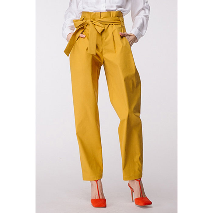 Хлопковые брюки Shako с поясом