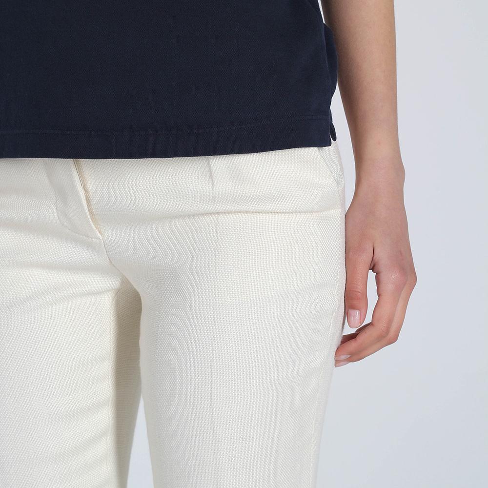 Светлые брюки-клеш Stella McCartney с заниженной талией