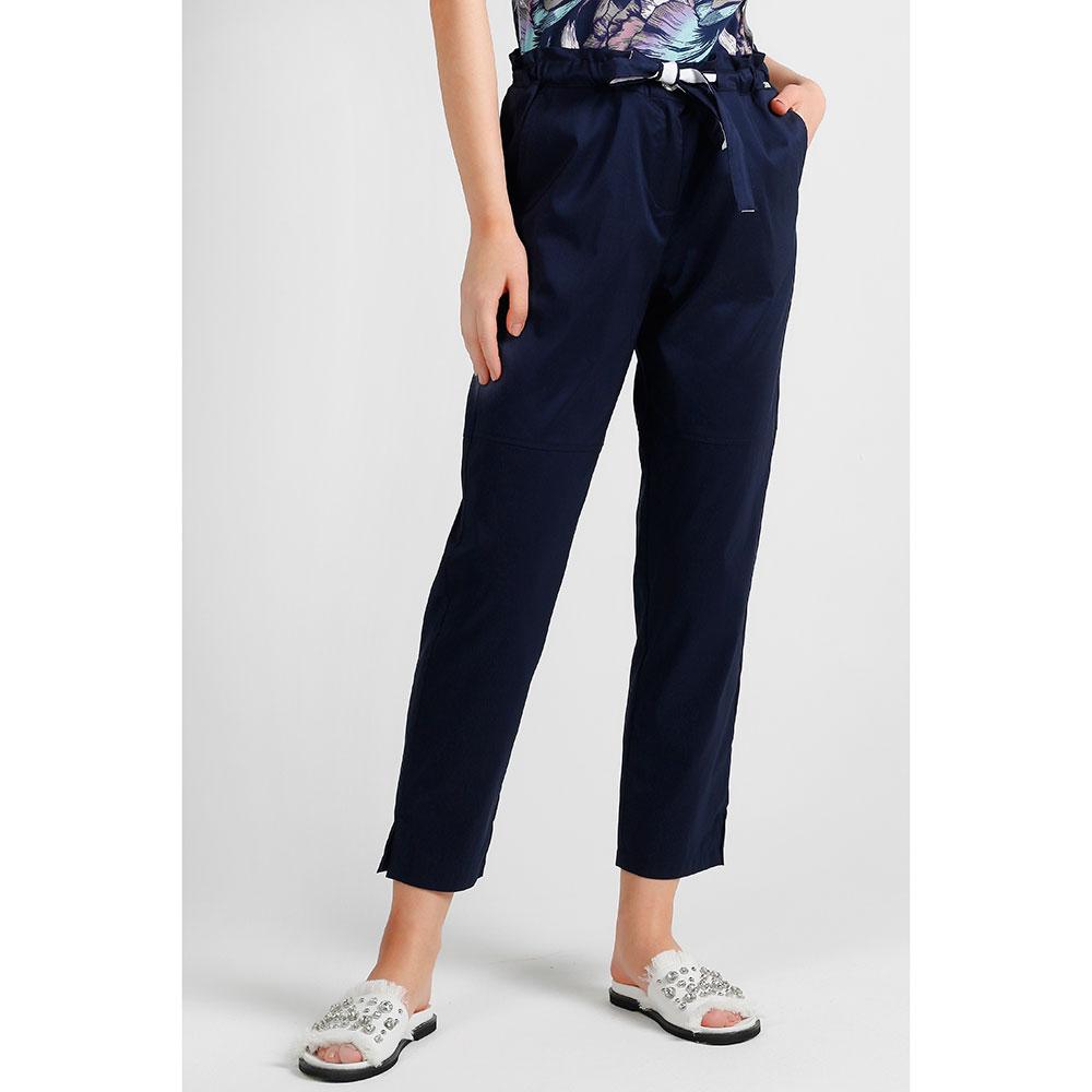 Синие укороченные брюки Airfield с поясом