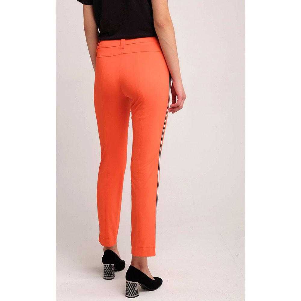 Укороченные брюки Sportalm оранжевого цвета