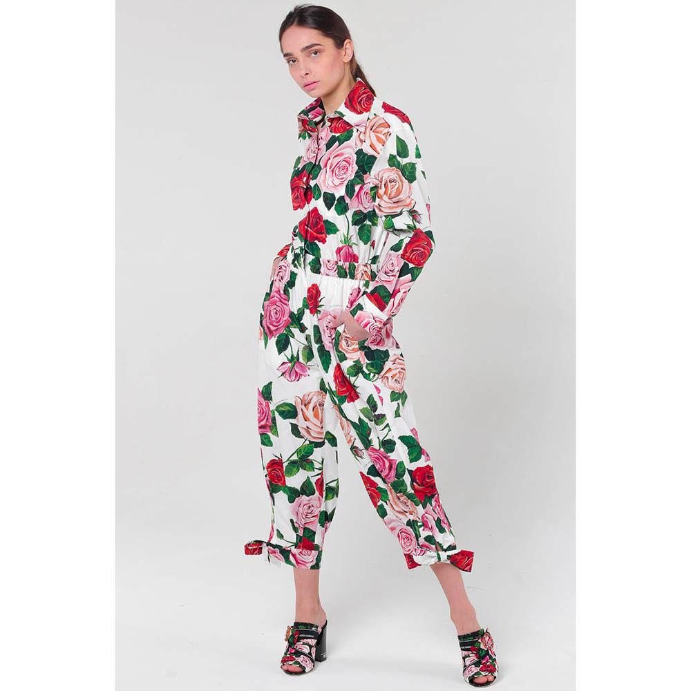 Комбинезон Dolce&Gabbana с розами