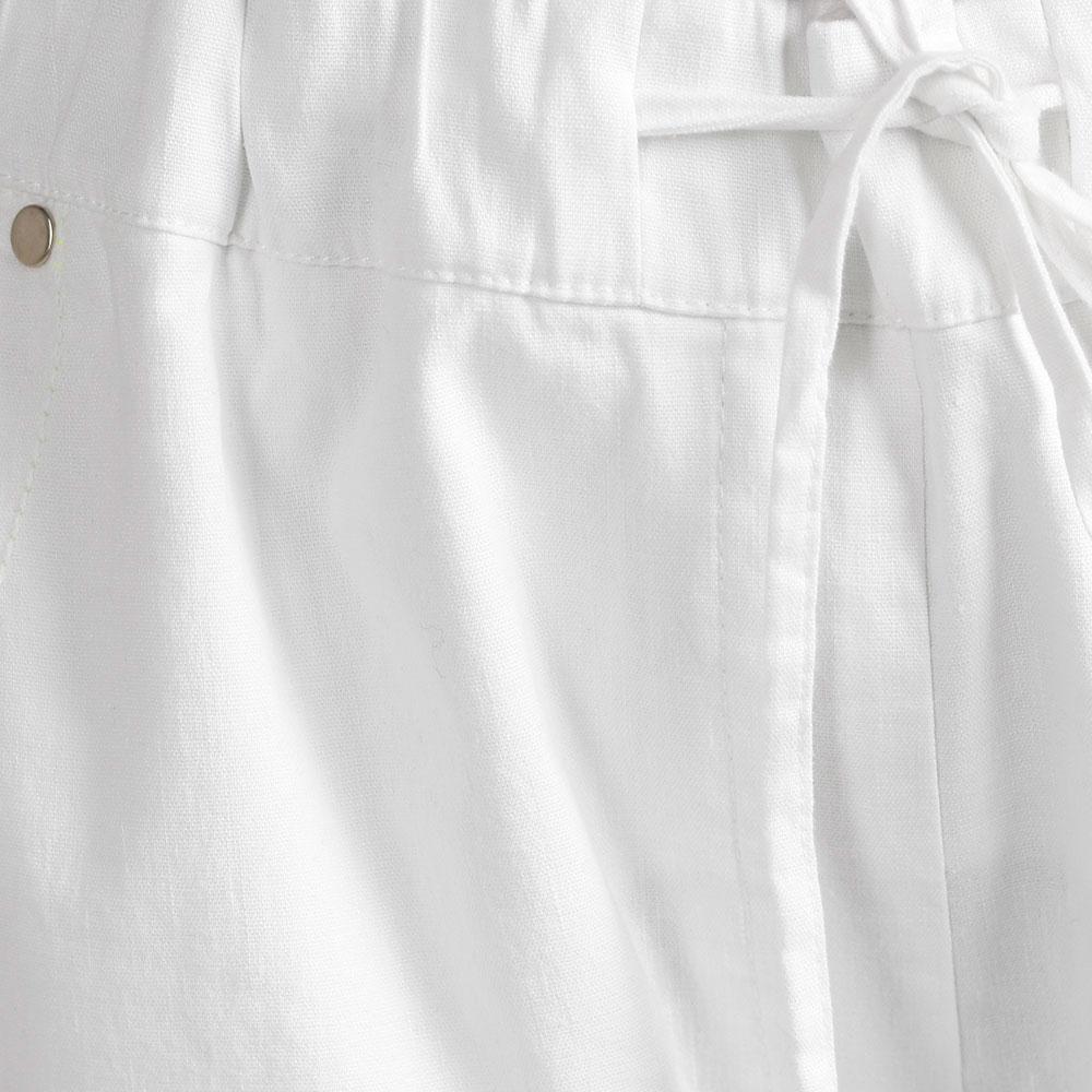 Белые брюки Sportalm с лампасами