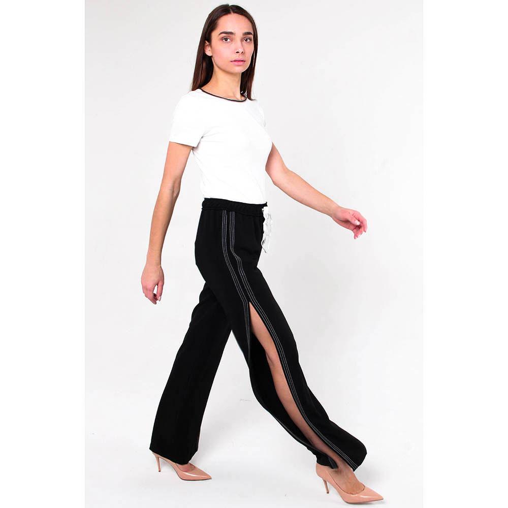 Широкие брюки Ermanno Scervino с разрезами