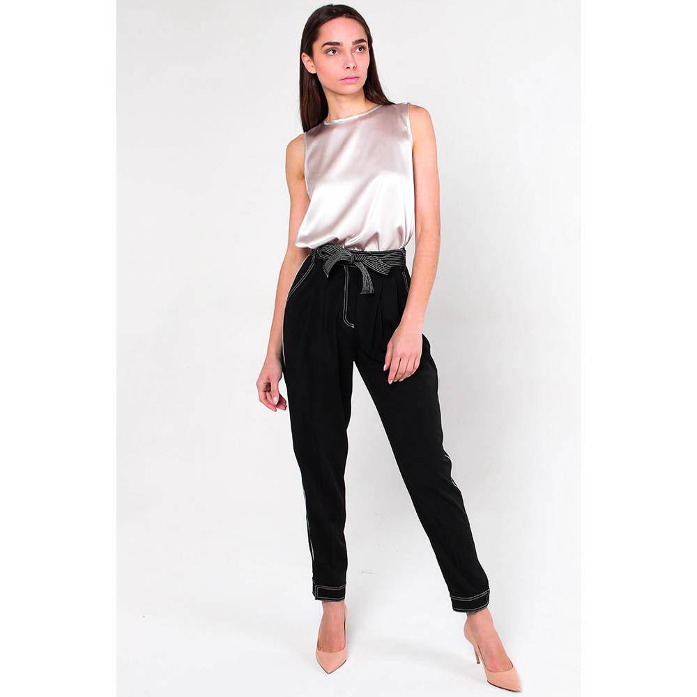 Зауженные брюки Ermanno Scervino с поясом
