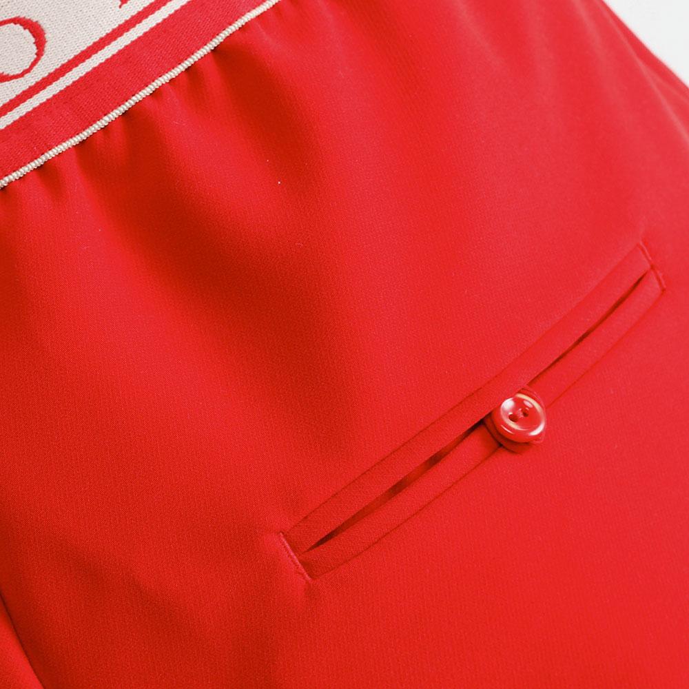 Красные брюки Ermanno Scervino со стрелками