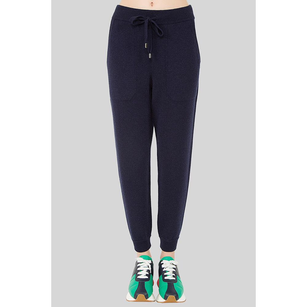Кашемировые брюки MRZ синего цвета