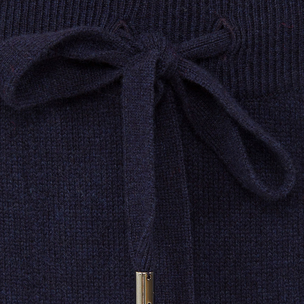 Укороченные брюки MRZ синего цвета