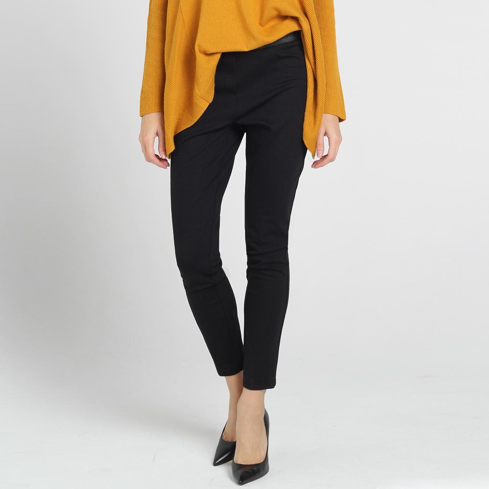 Черные узкие брюки Blugirl Blumarine
