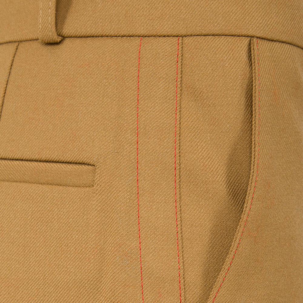 Брюки Marni коричневые с высокой посадкой