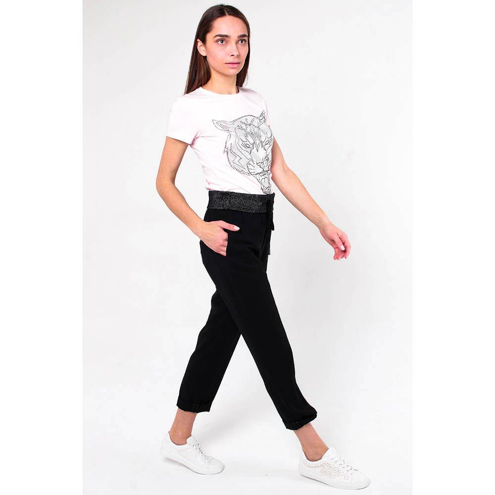 Укороченные брюки Peserico с широким поясом