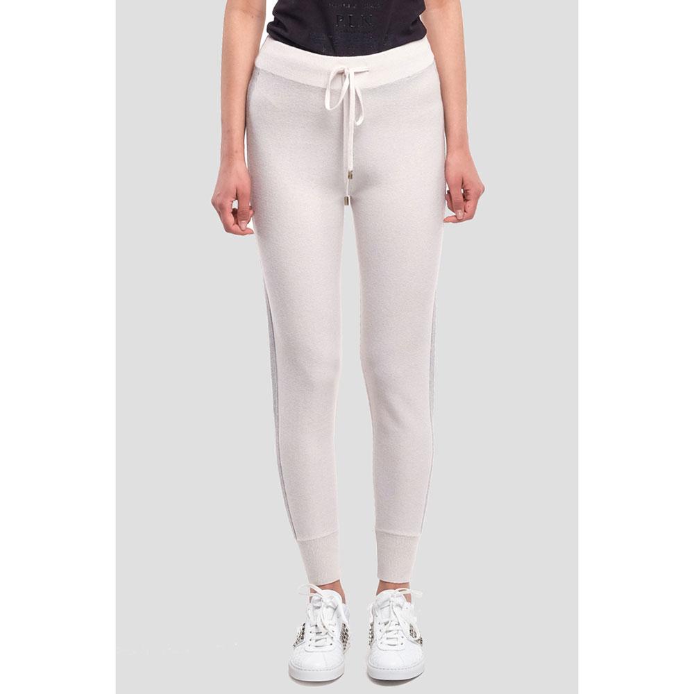 Спортивные брюки Peserico молочного цвета