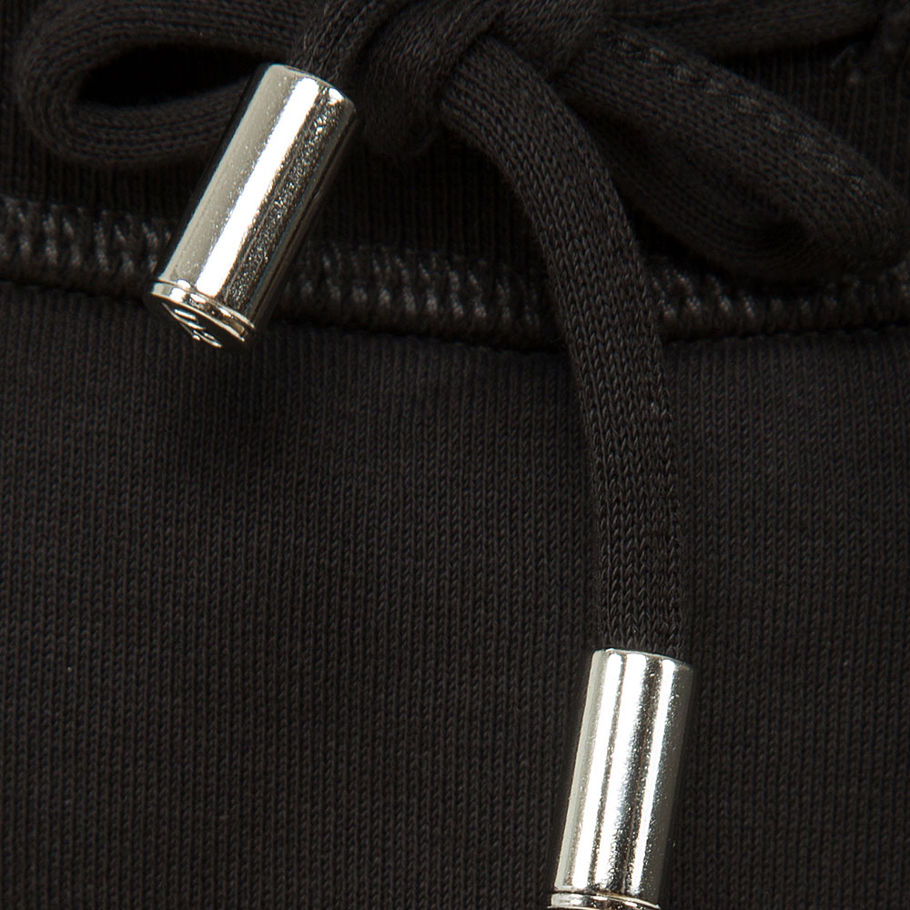 Черные брюки Dsquared2 укороченные
