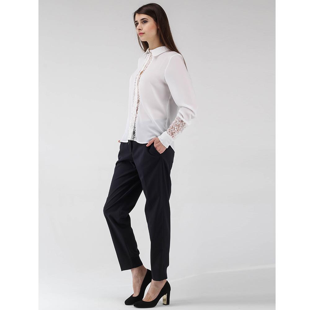 Зауженные брюки Peserico черного цвета
