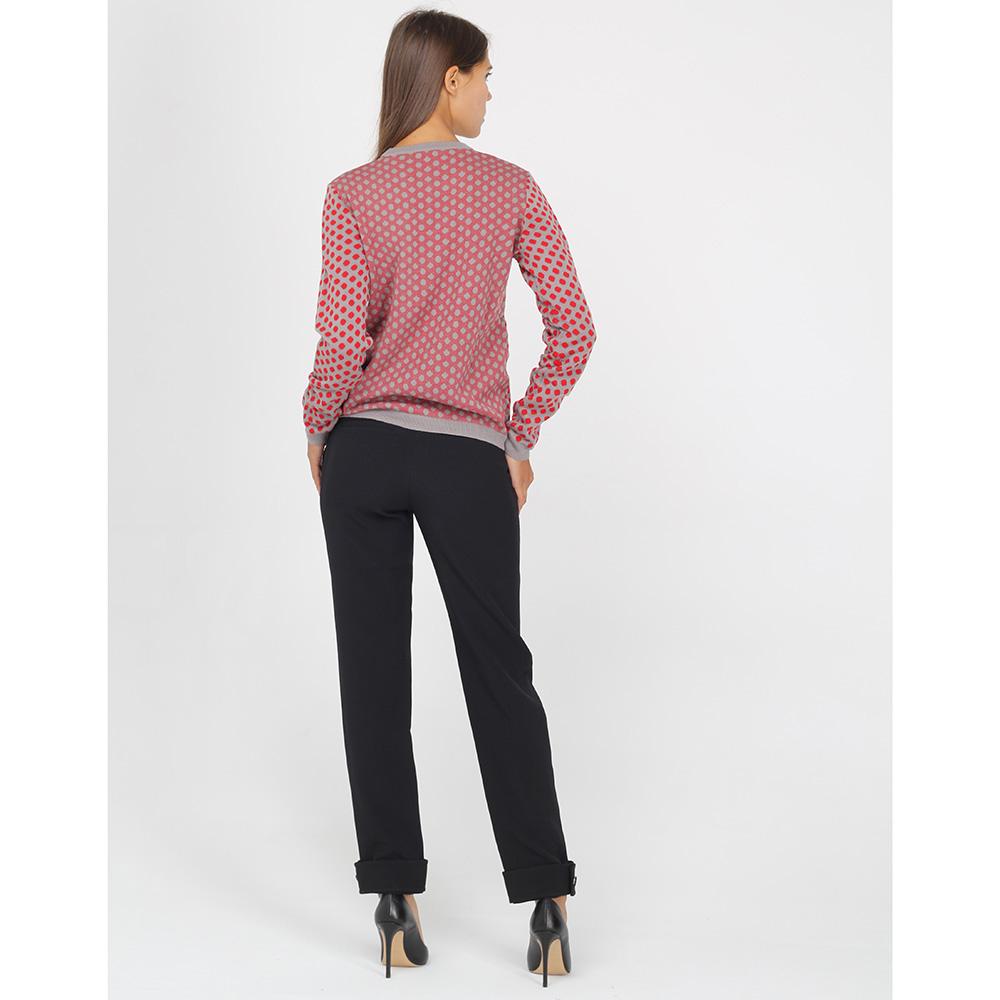 Черные брюки Emporio Armani с подворотами