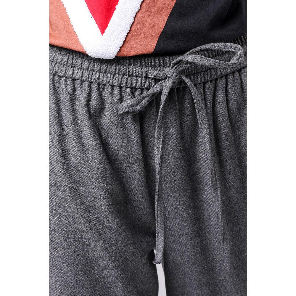 Спортивные брюки Red Valentino серого цвета
