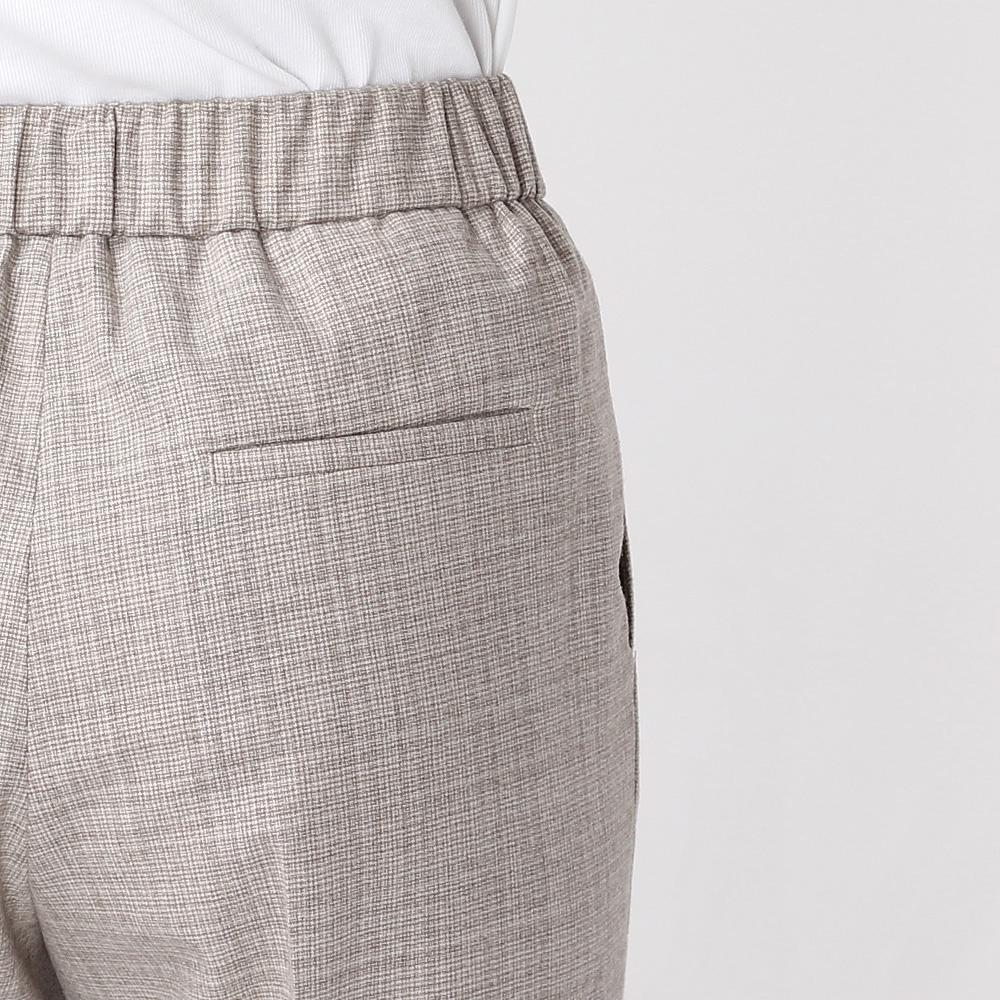 Зауженные брюки Peserico со стрелками и манжетами